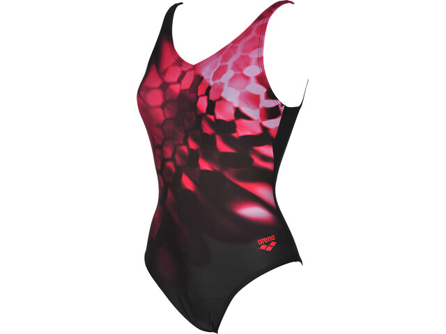 arena Plumage B One Piece Swimsuit Damen black